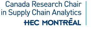 Canada Research Chair in Supply Chain Analytics Logo