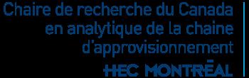 Chaire de recherche du Canada en analytique de la chaine d'approvisionnement Logo